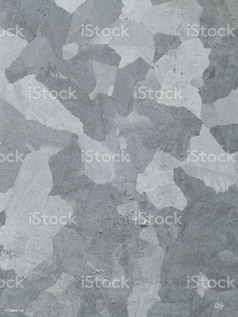 Galvanized steel spangles in close-up royalty-free stock photo