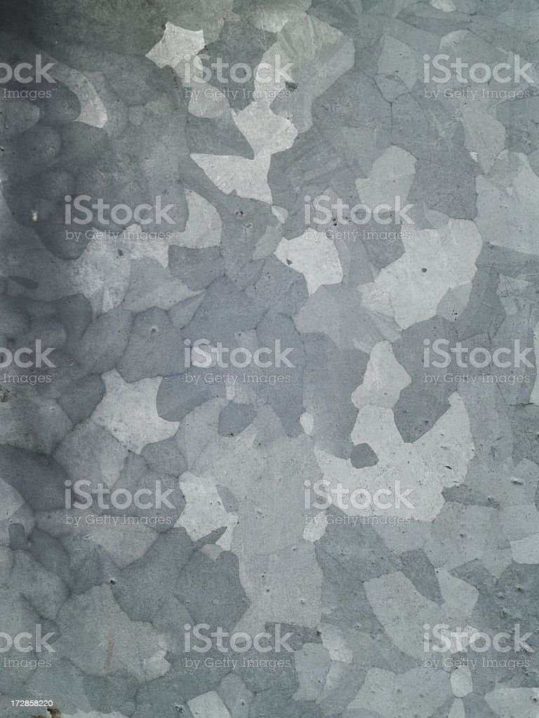 Galvanized steel spangles royalty-free stock photo