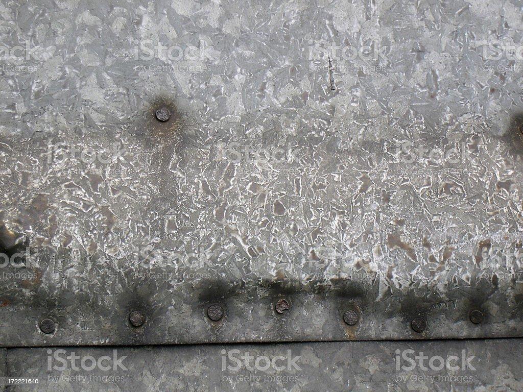 Galvanized tin texture royalty-free stock photo