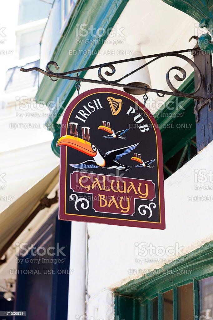 Galway Bay Irish Pub In Annapolis, Maryland stock photo