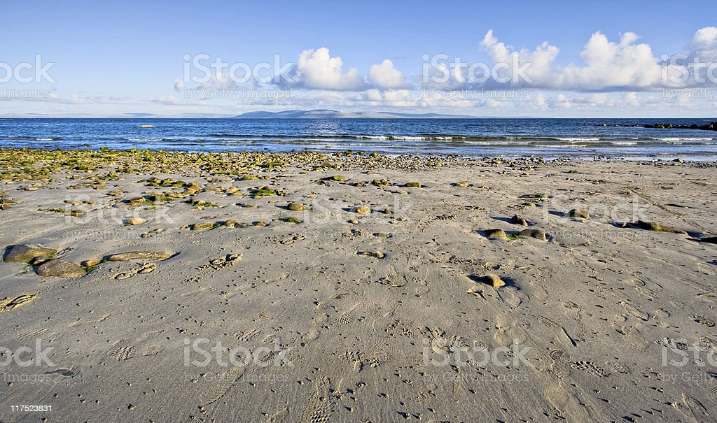 Galway Bay royalty-free stock photo