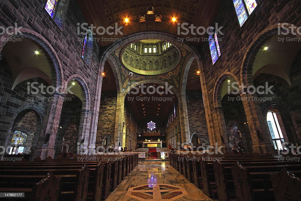 Galway Cathedral, Ireland stock photo
