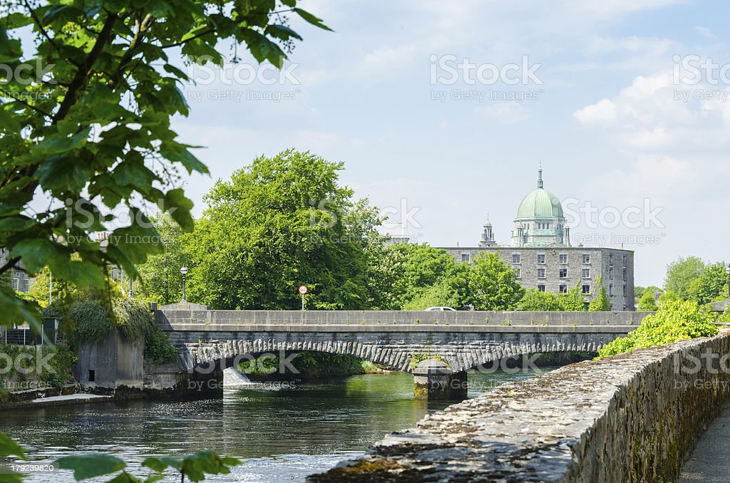 Galway Cathedral (Ireland) royalty-free stock photo