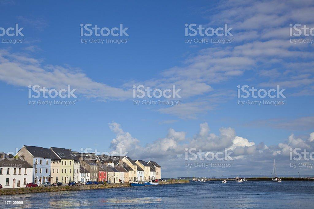 Galway City, Ireland stock photo