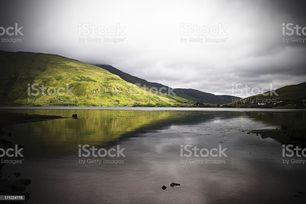 Galway countryside stock photo