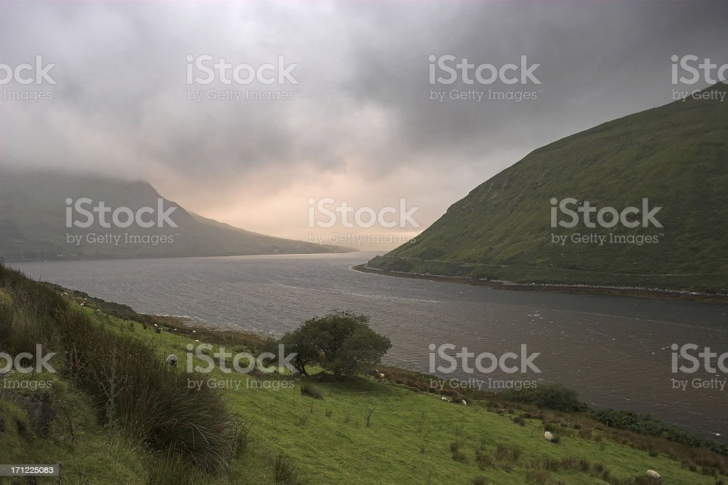 Galway hills royalty-free stock photo