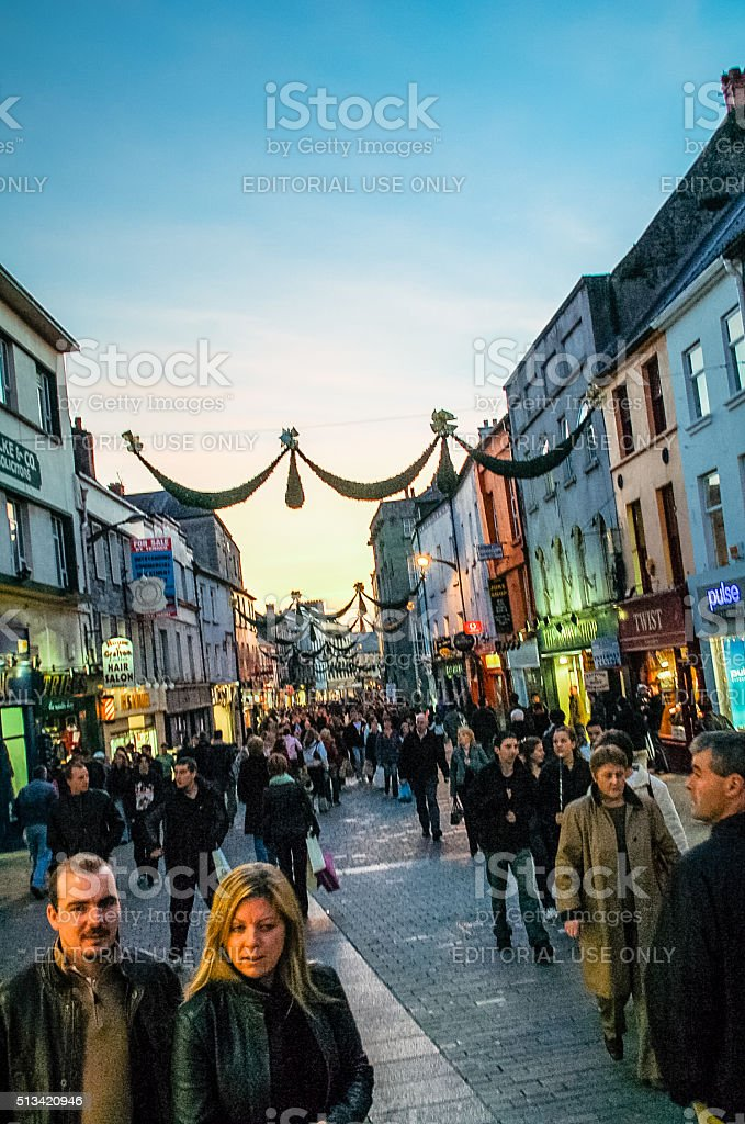 Galway, Ireland stock photo