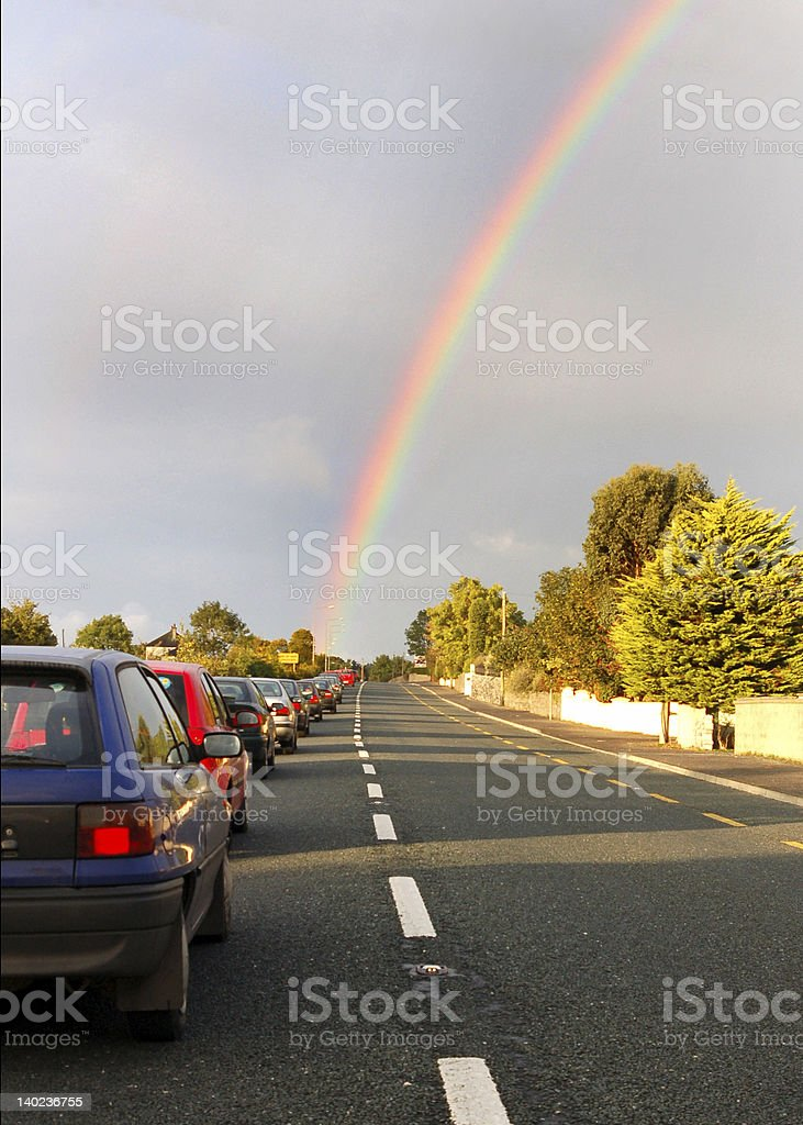 galway traffic royalty-free stock photo