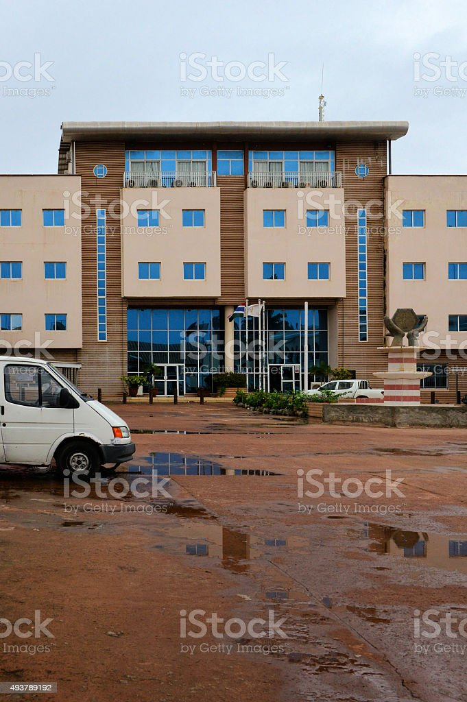 Gambia Revenue Authority, Ministry of Finance, Banjul stock photo