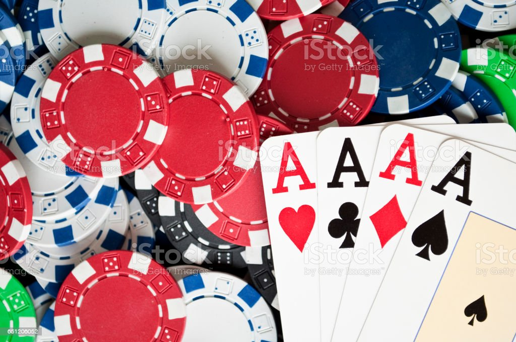 Gamble concept stock photo