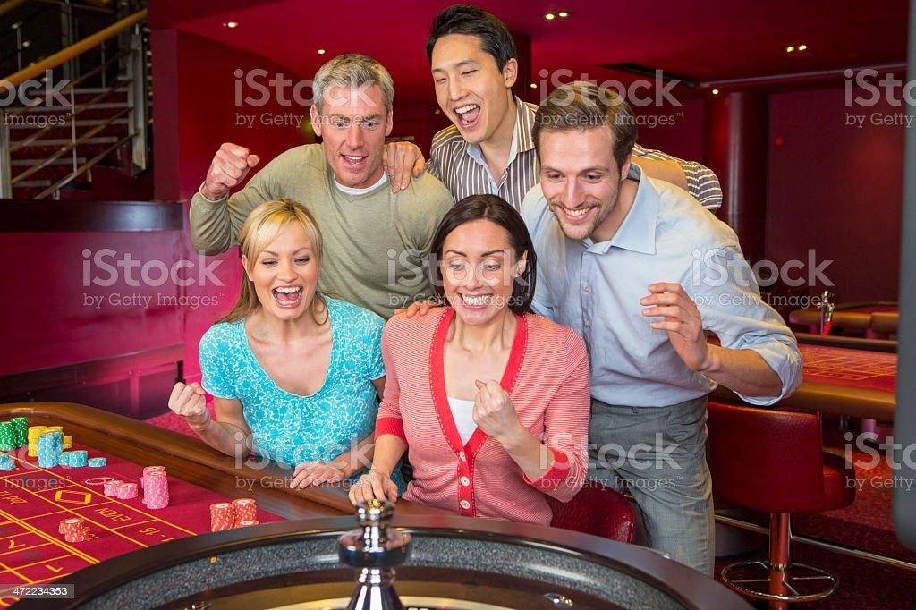 Gamble stock photo