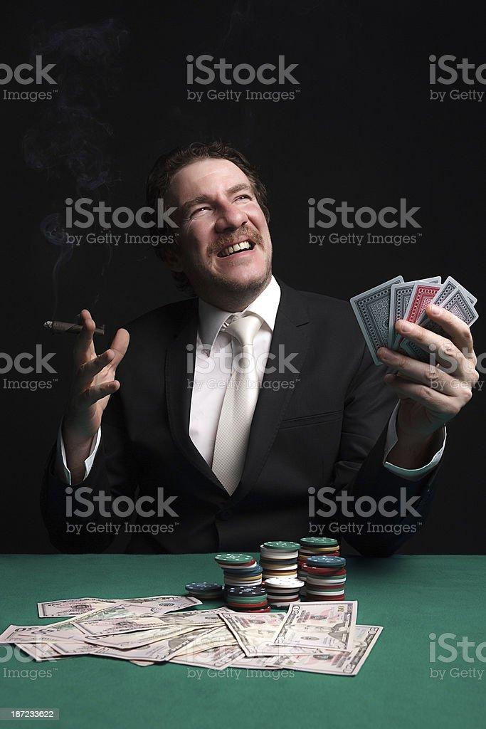 Gambler stock photo