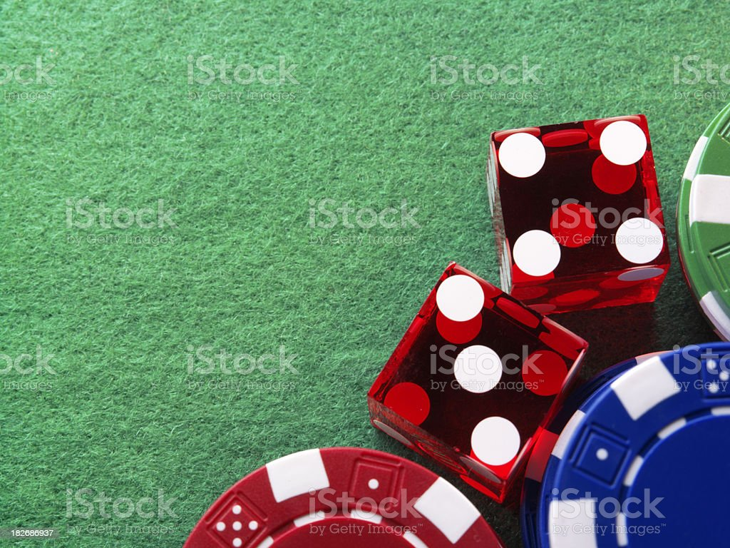 Gambling 2 royalty-free stock photo
