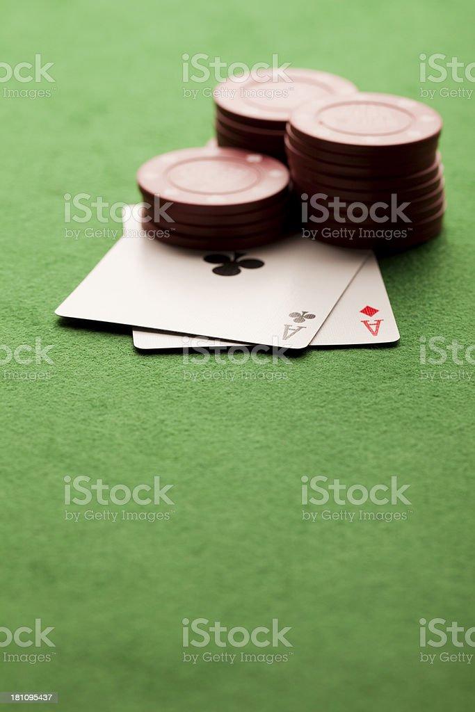 Gambling background royalty-free stock photo