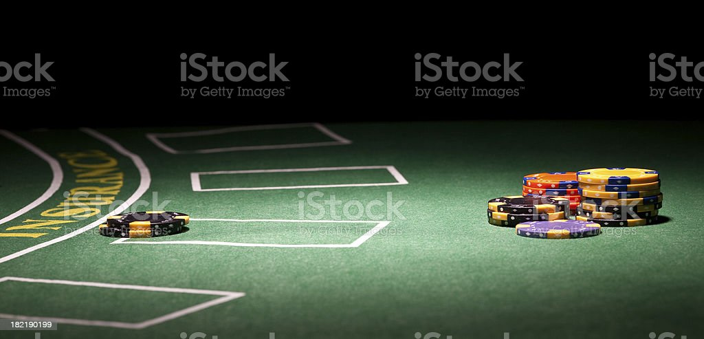Gambling background stock photo