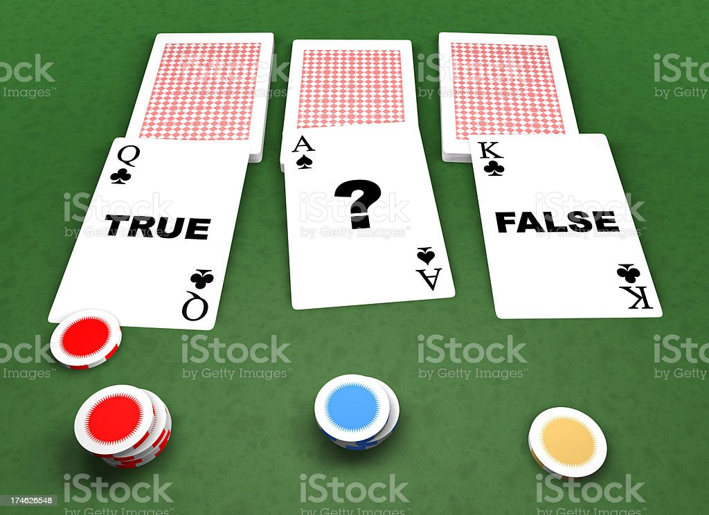 gambling cards, casino concept royalty-free stock photo