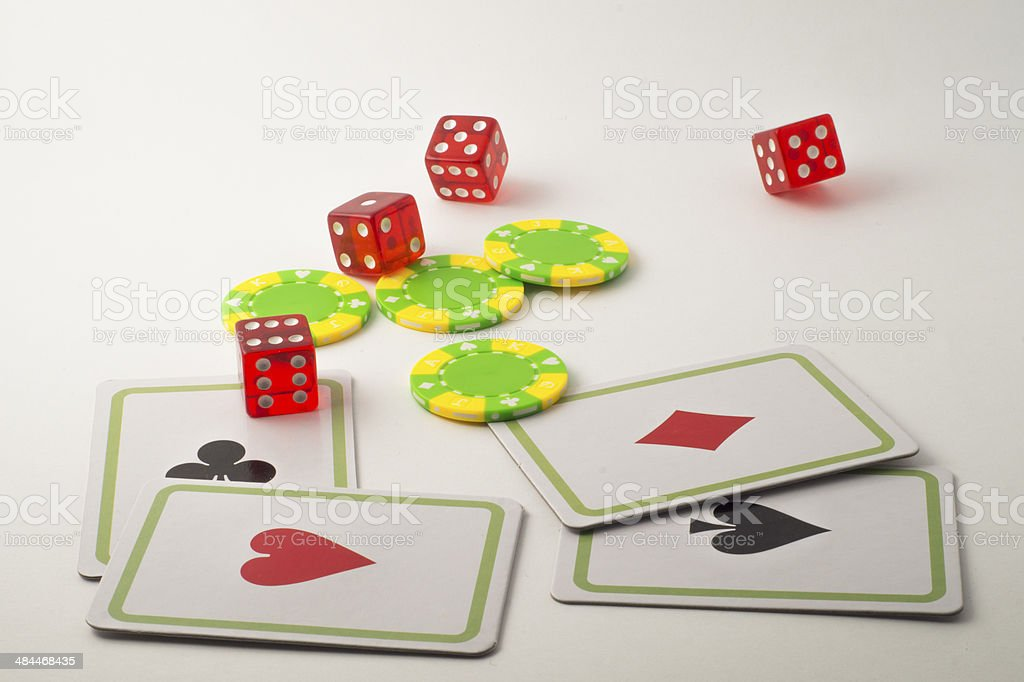 Gambling Casin? stock photo