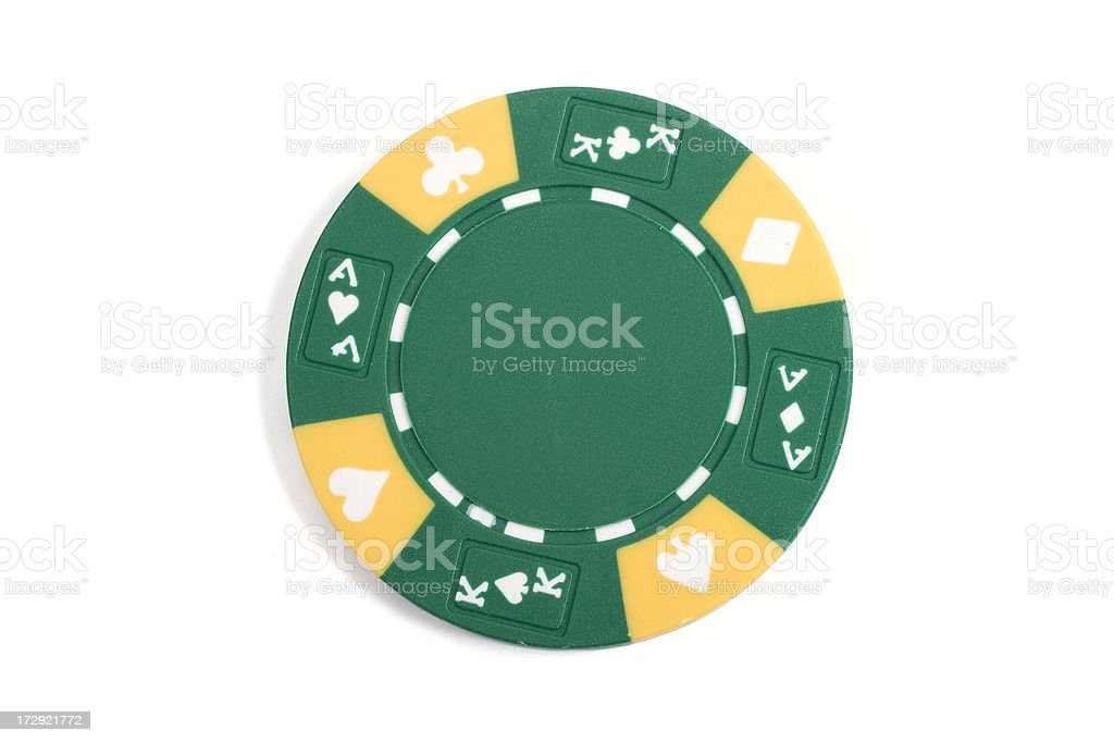 Gambling Chip royalty-free stock photo