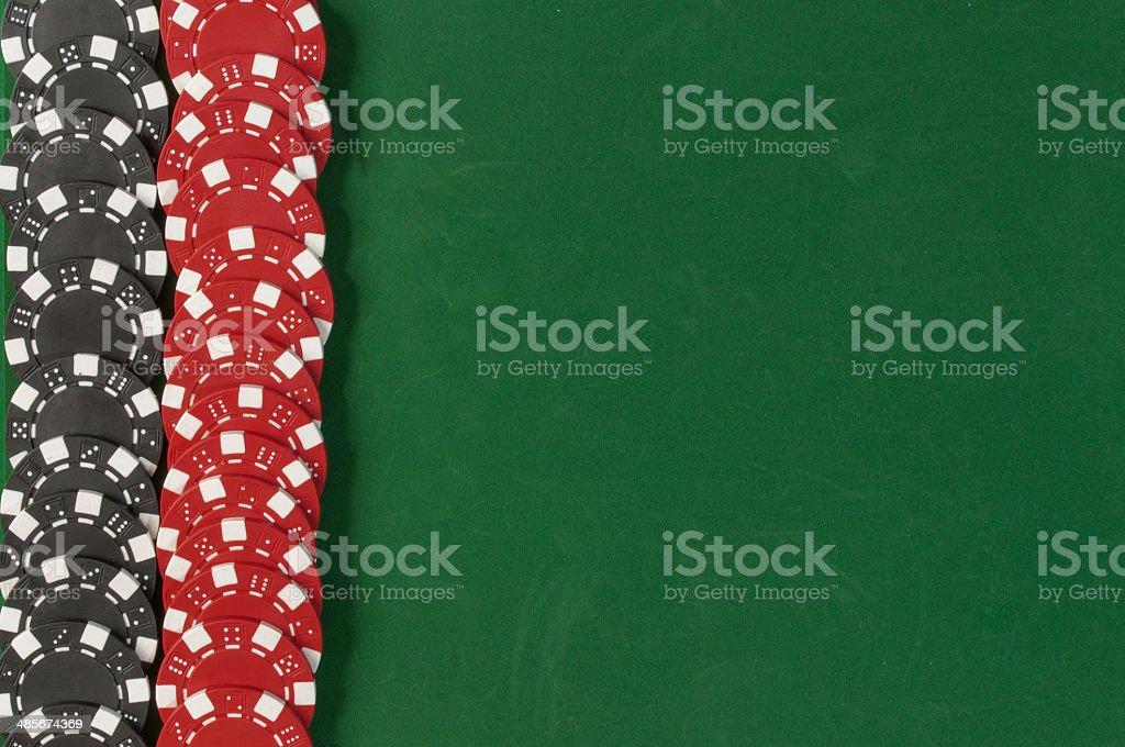 Gambling chips  background stock photo