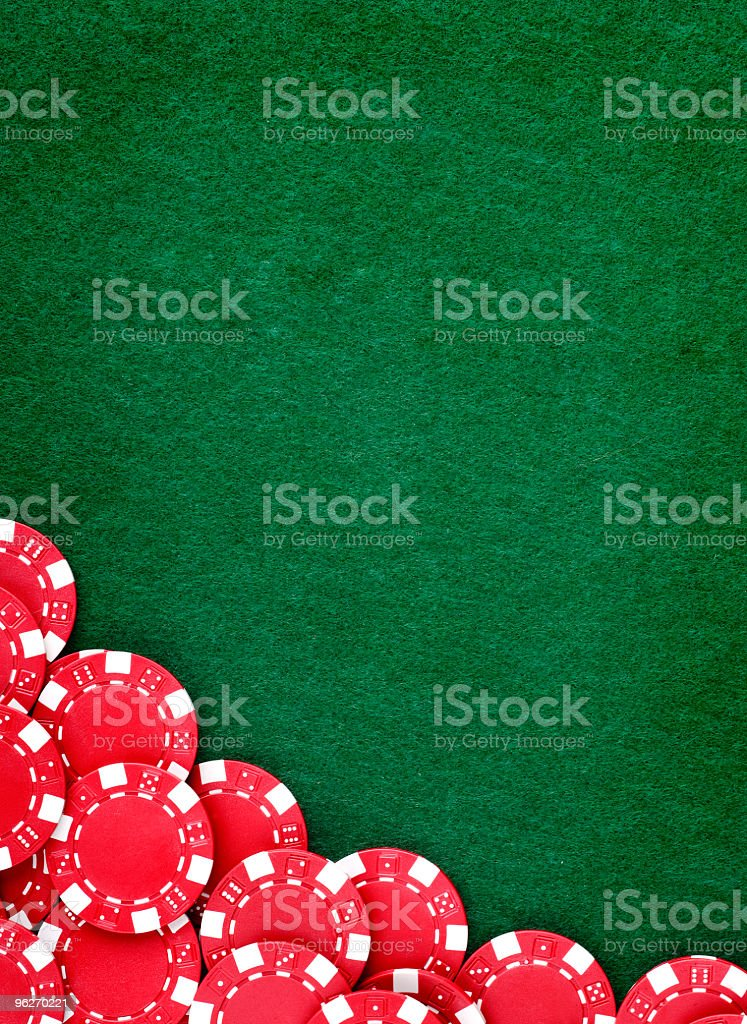 Gambling chips royalty-free stock photo