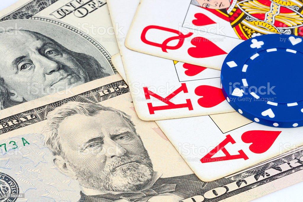 gambling concept royalty-free stock photo