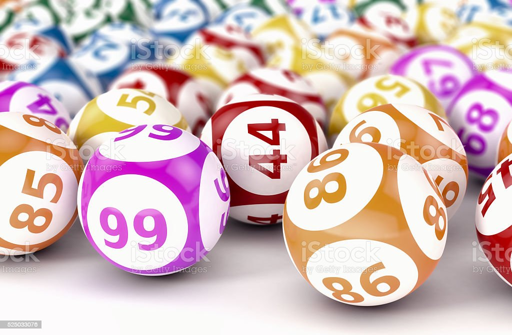 gambling, lotto game stock photo