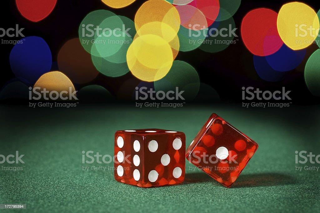 Gambling Night royalty-free stock photo
