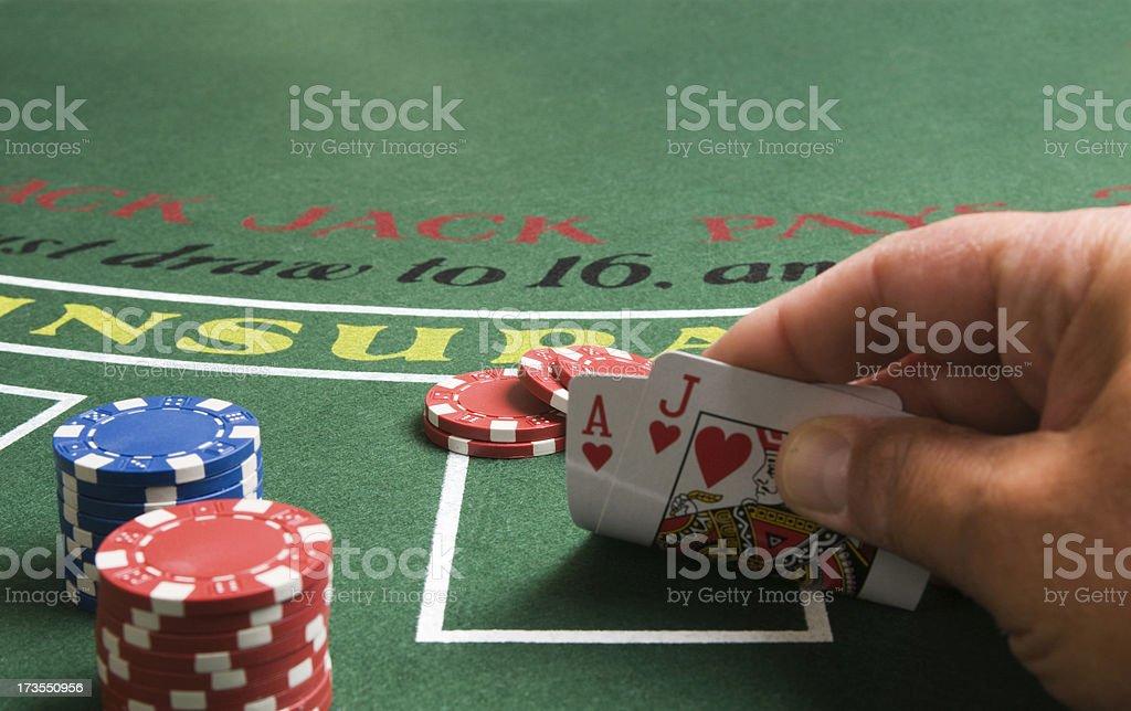 Gambling Series stock photo