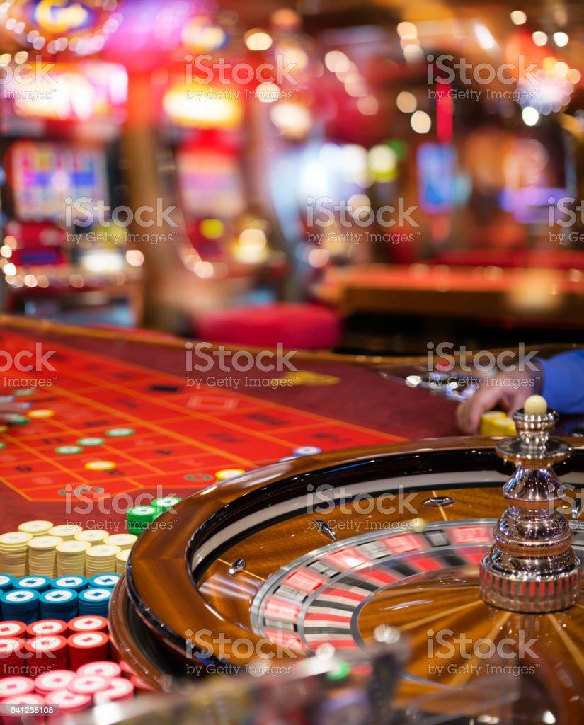 Gambling To Casino stock photo