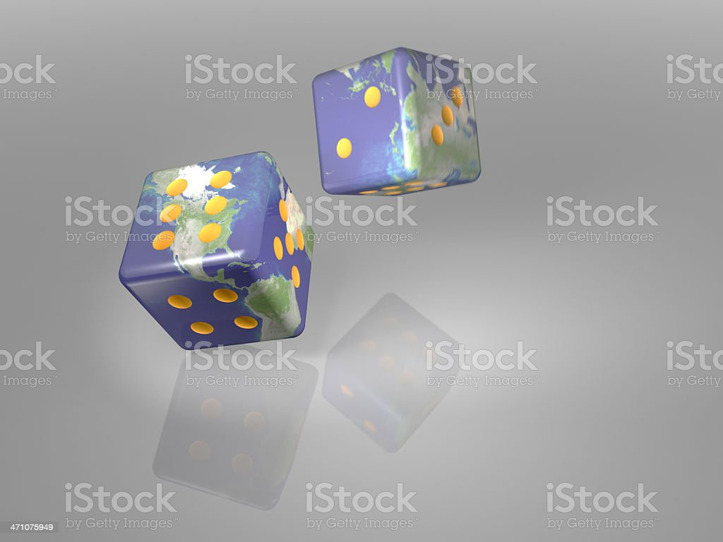 Gambling With The Earth royalty-free stock photo