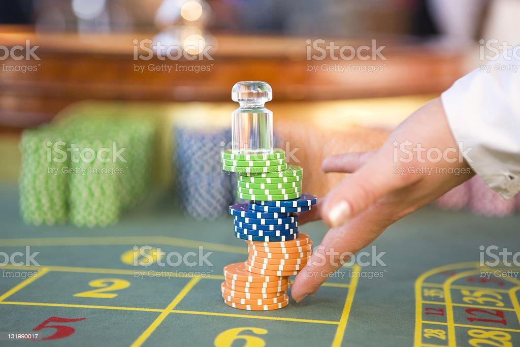 Gambling XXL royalty-free stock photo