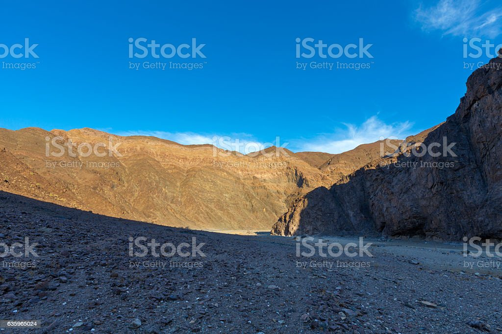 Gamchab Canyon stock photo