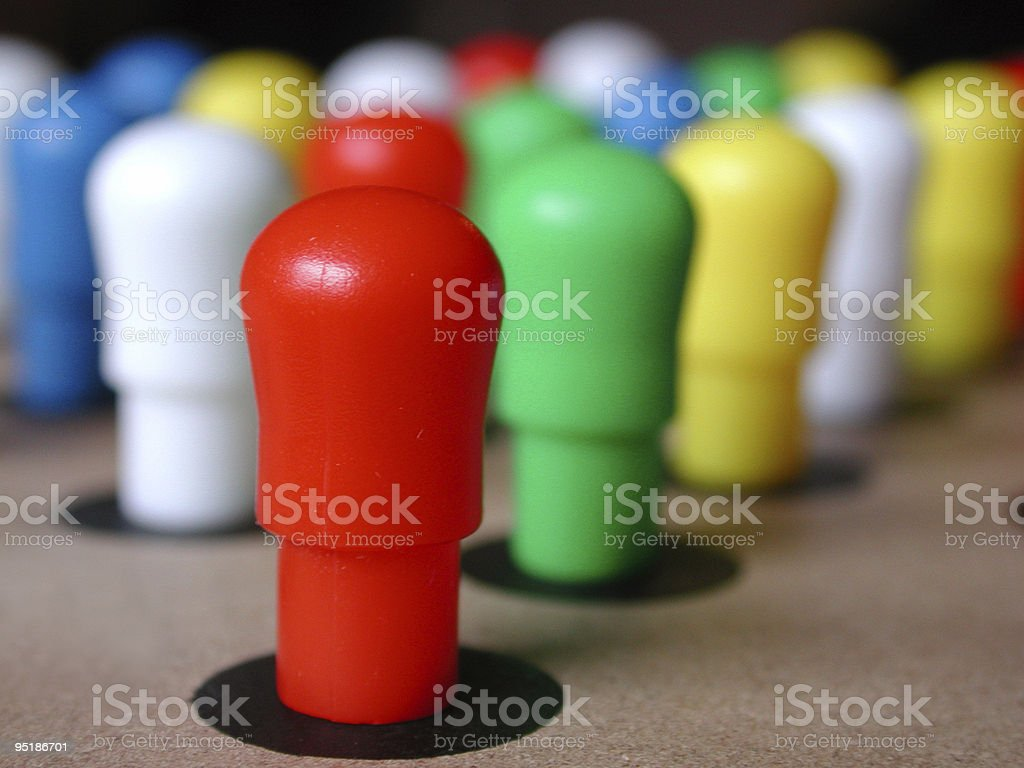 Game board pieces royalty-free stock photo