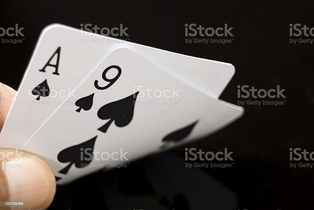 Game Cards stock photo