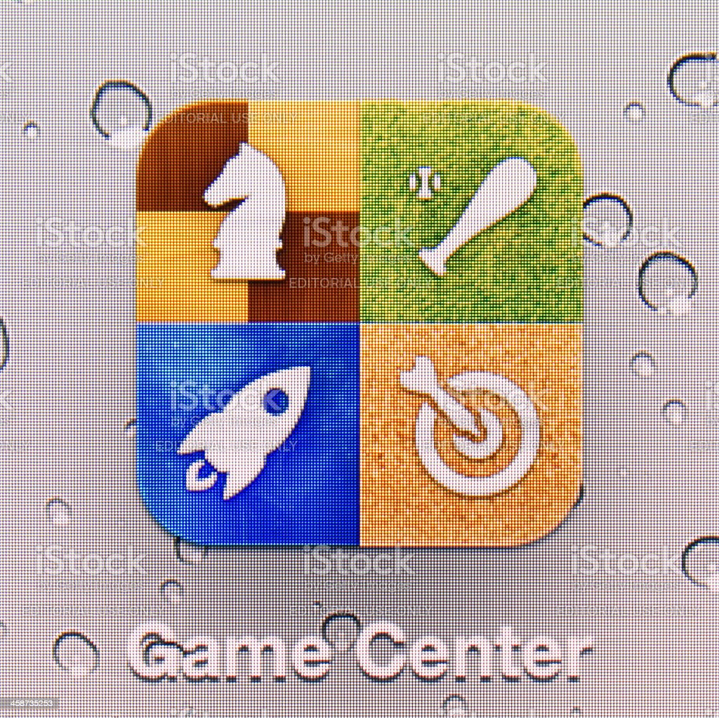 Game Center. royalty-free stock photo