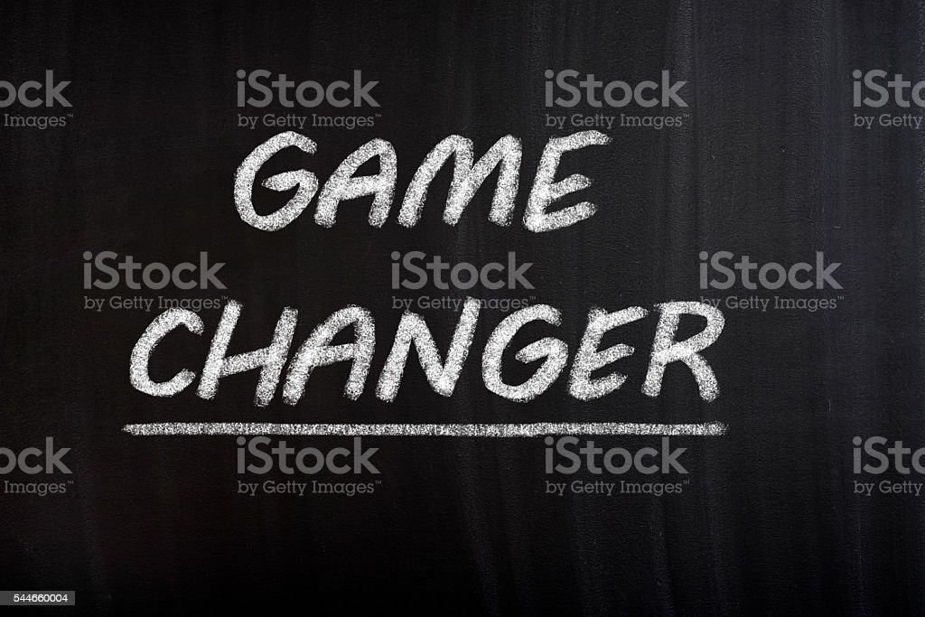 Game Changer stock photo