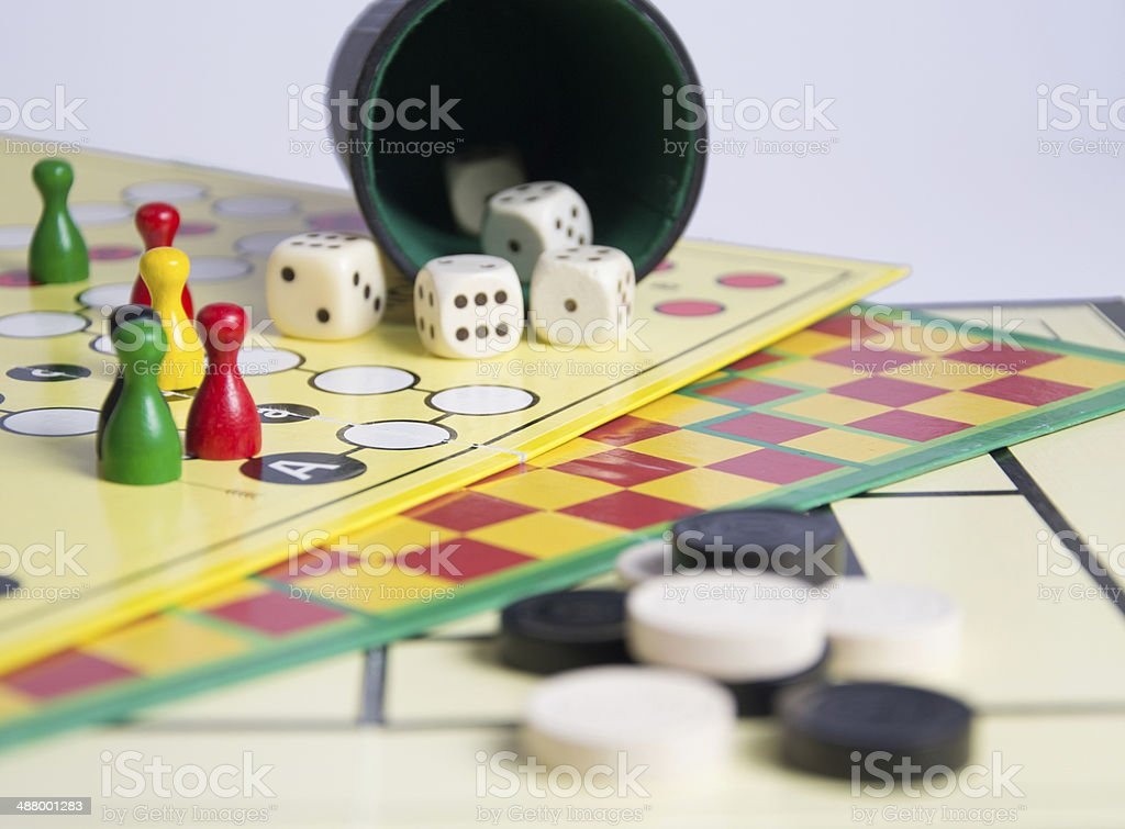 game collection royalty-free stock photo