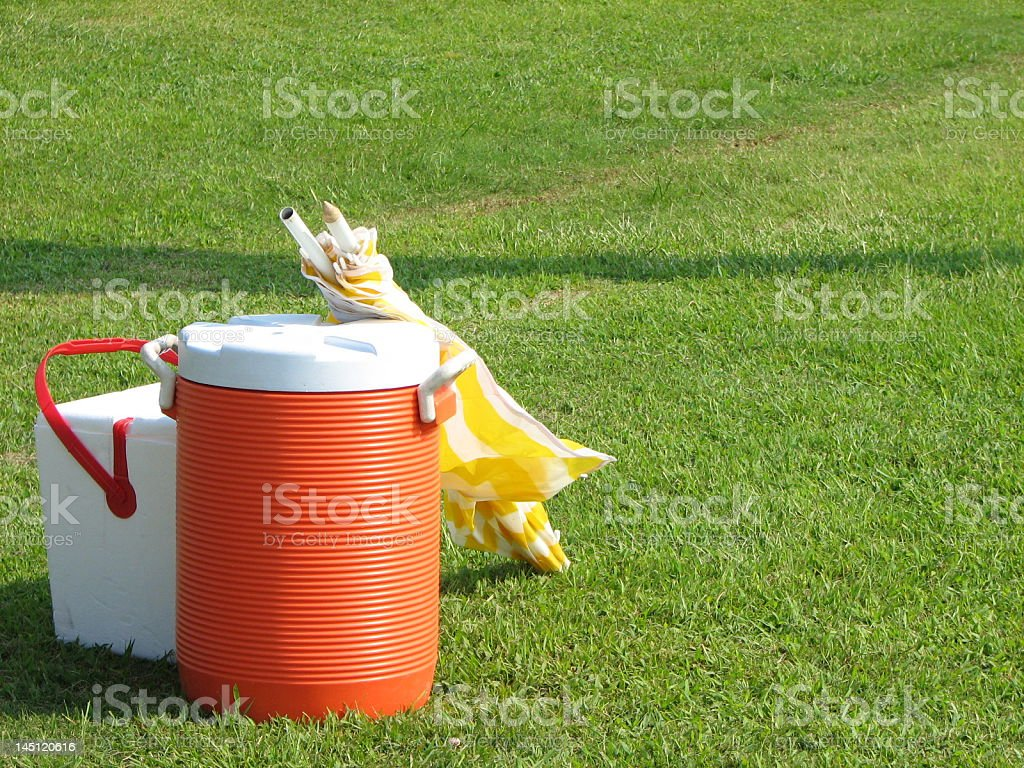 Game Day Coolers stock photo