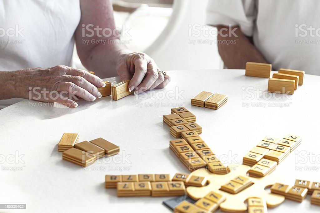 Game Day for the family stock photo