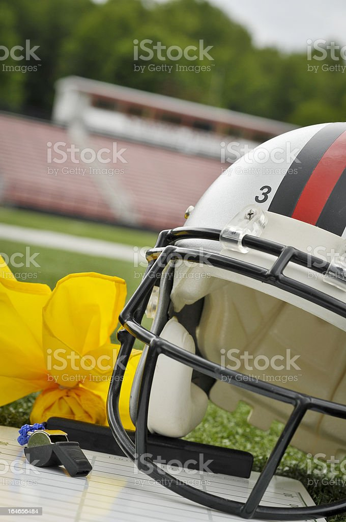 Game Day royalty-free stock photo