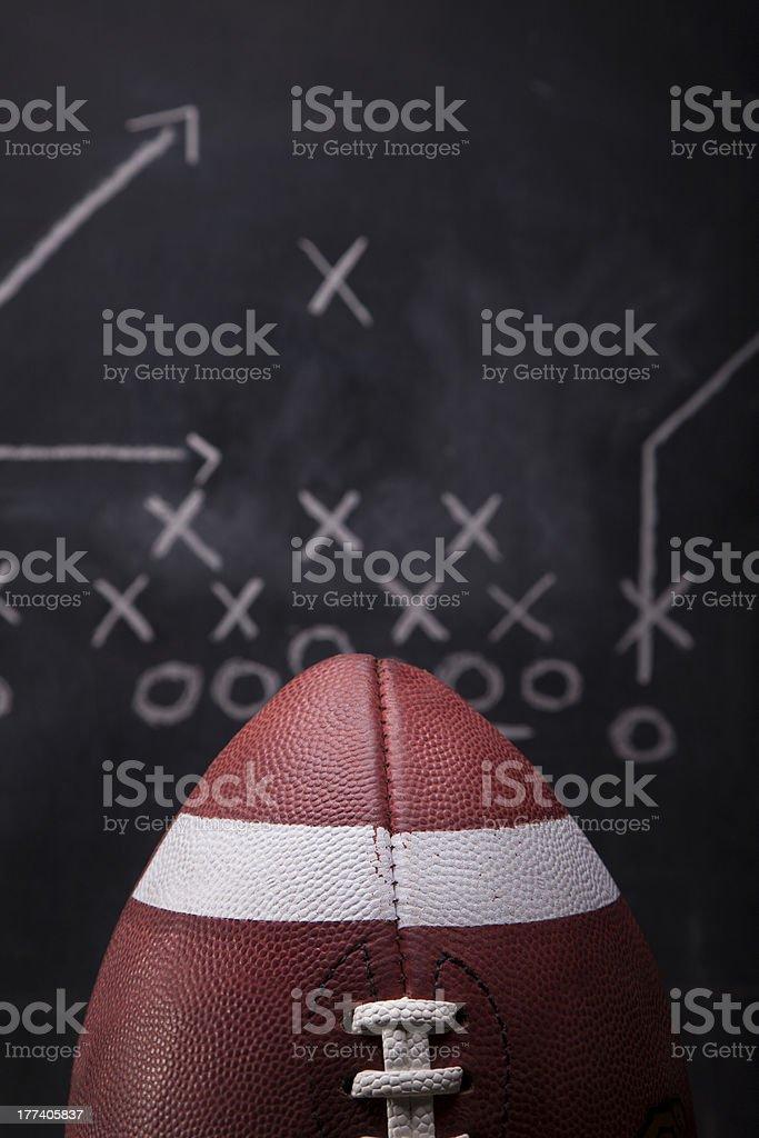 Game Day Plan stock photo