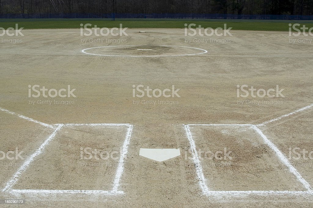 Game field stock photo