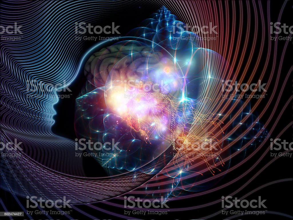 Game of the Mind stock photo