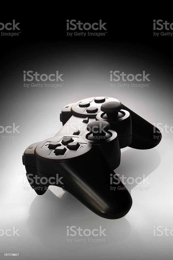Game Pad w/Clipping Path royalty-free stock photo