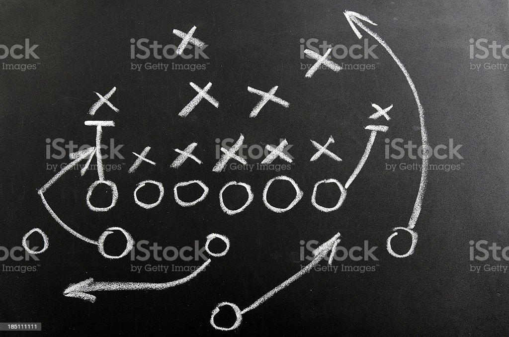 Game plan stock photo