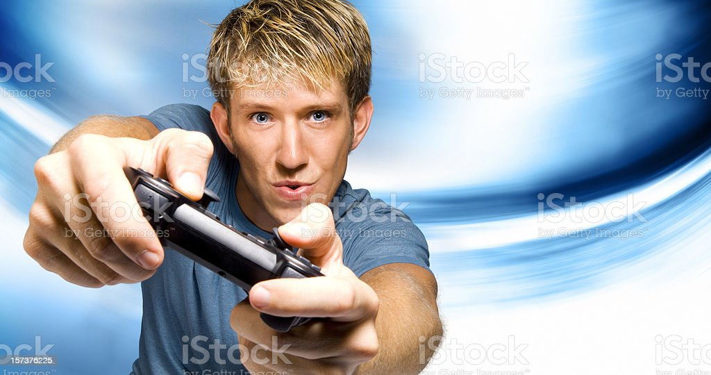 Game Playing stock photo