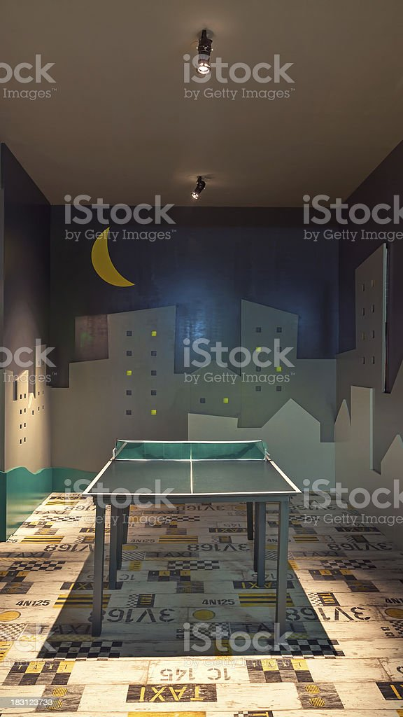 Game room royalty-free stock photo