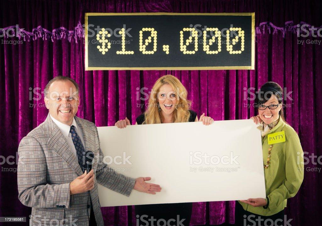 Game Show Winner royalty-free stock photo