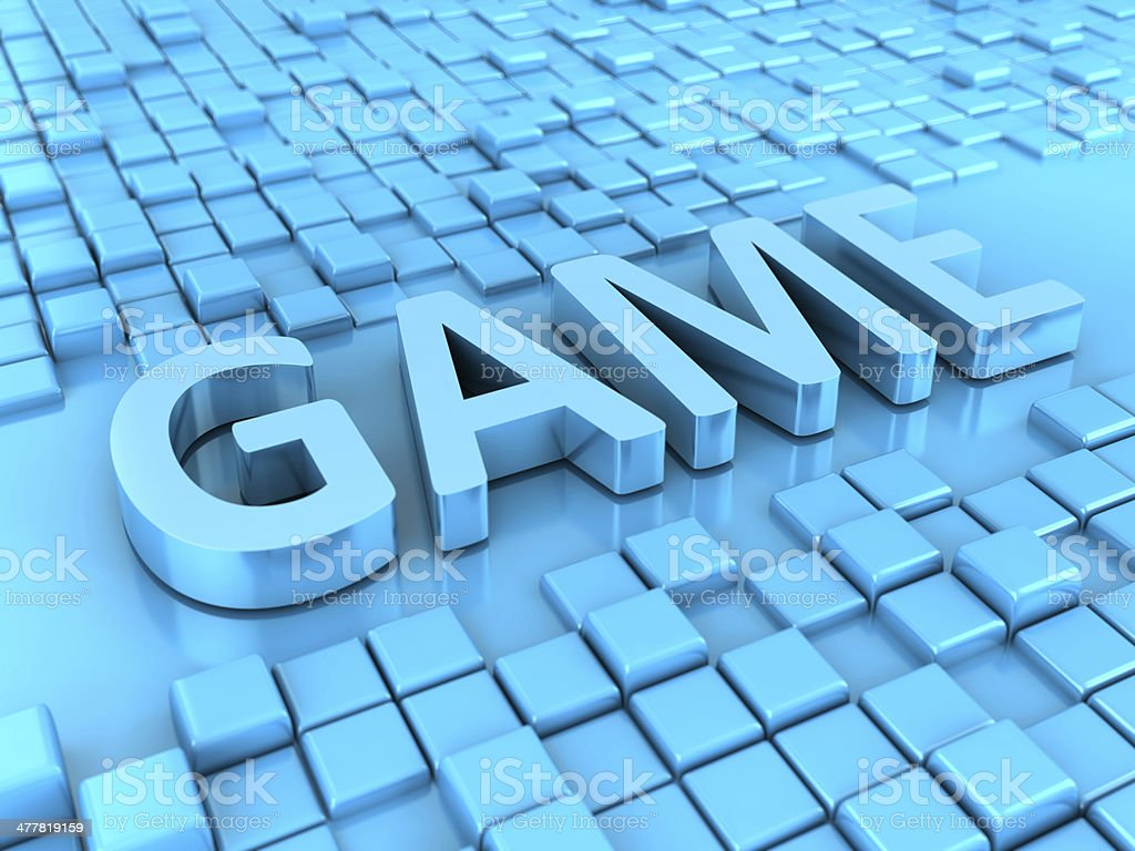 Game Symbol royalty-free stock photo