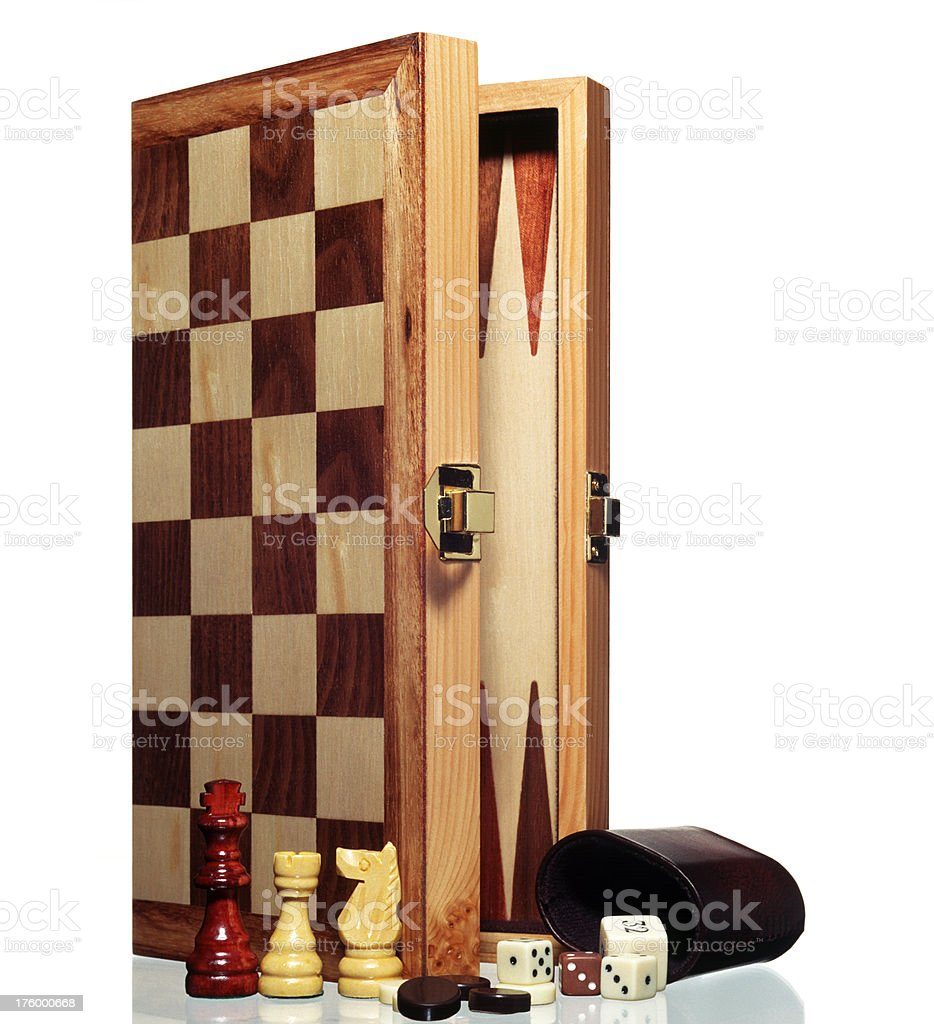 game,board,chess,backgammon,dice, dices royalty-free stock photo